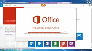 Office 365 installation for kursister