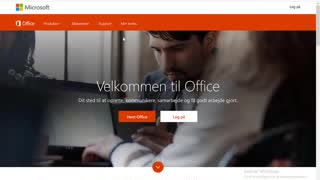 Installer office 365 og Onedrive