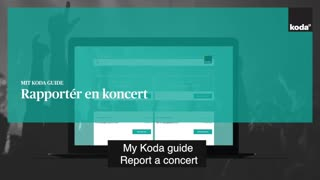 UK - My Koda guide: Report a concert
