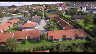 Droneoptagelser, R�nde, A-Huset