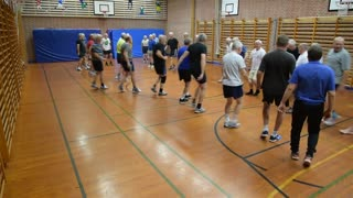 Eliteoldboys gymnastik i Ebeltoft