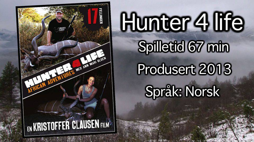Hunter 4 life, African Adventures av Kristoffer Clausen