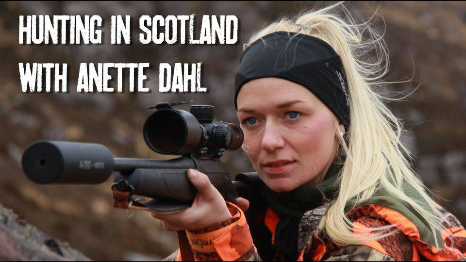Hunting in Scotland with Anette Dahl. The Norwegian Huntress.