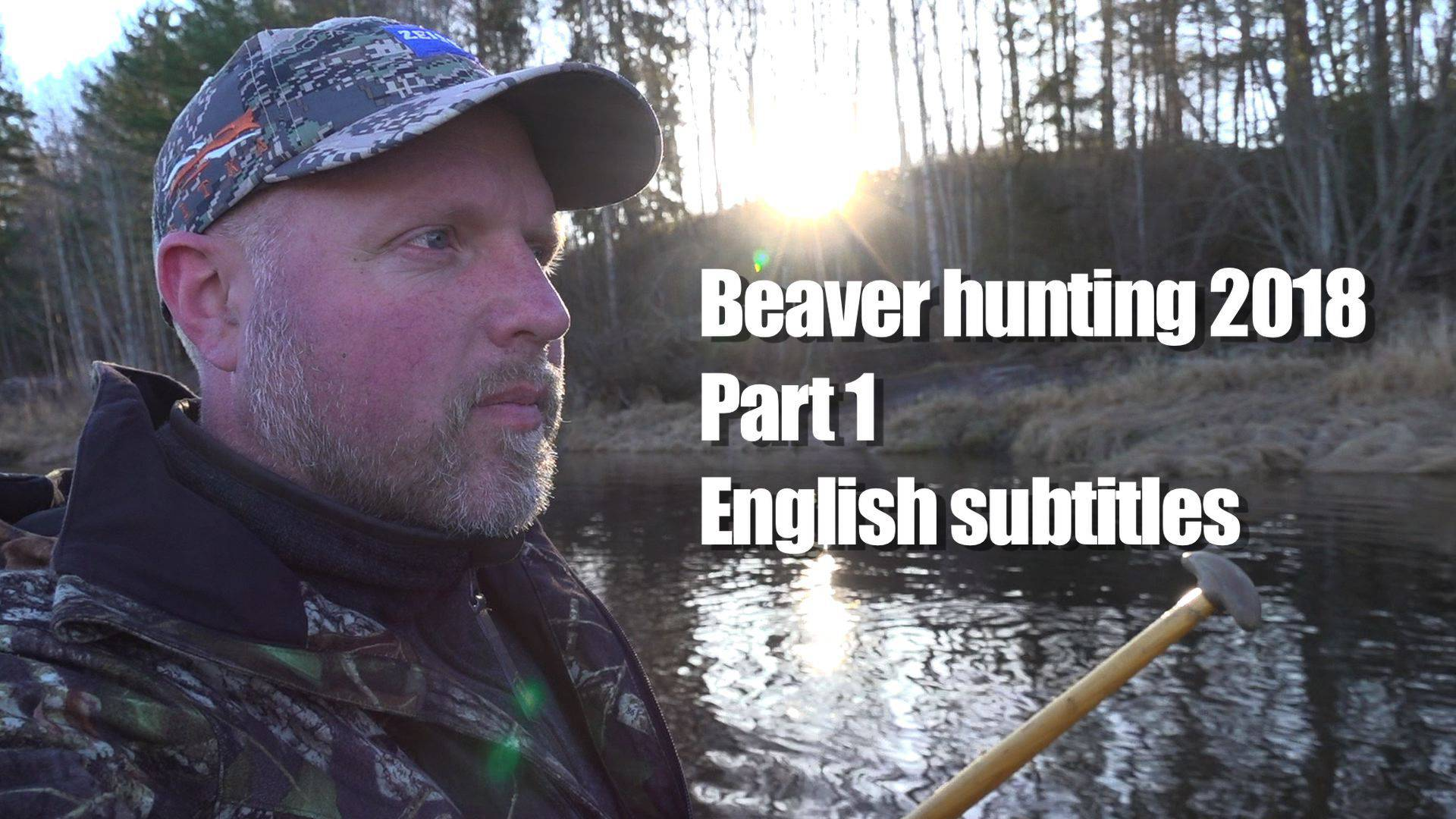 Beaver hunting 2018 Part 1 by Kristoffer Clausen