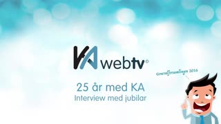 Interview med 25 års jubilar