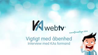 Interview med KAs formand