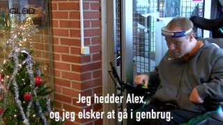ALEX ER FRIVILLIG FOR EN DAG